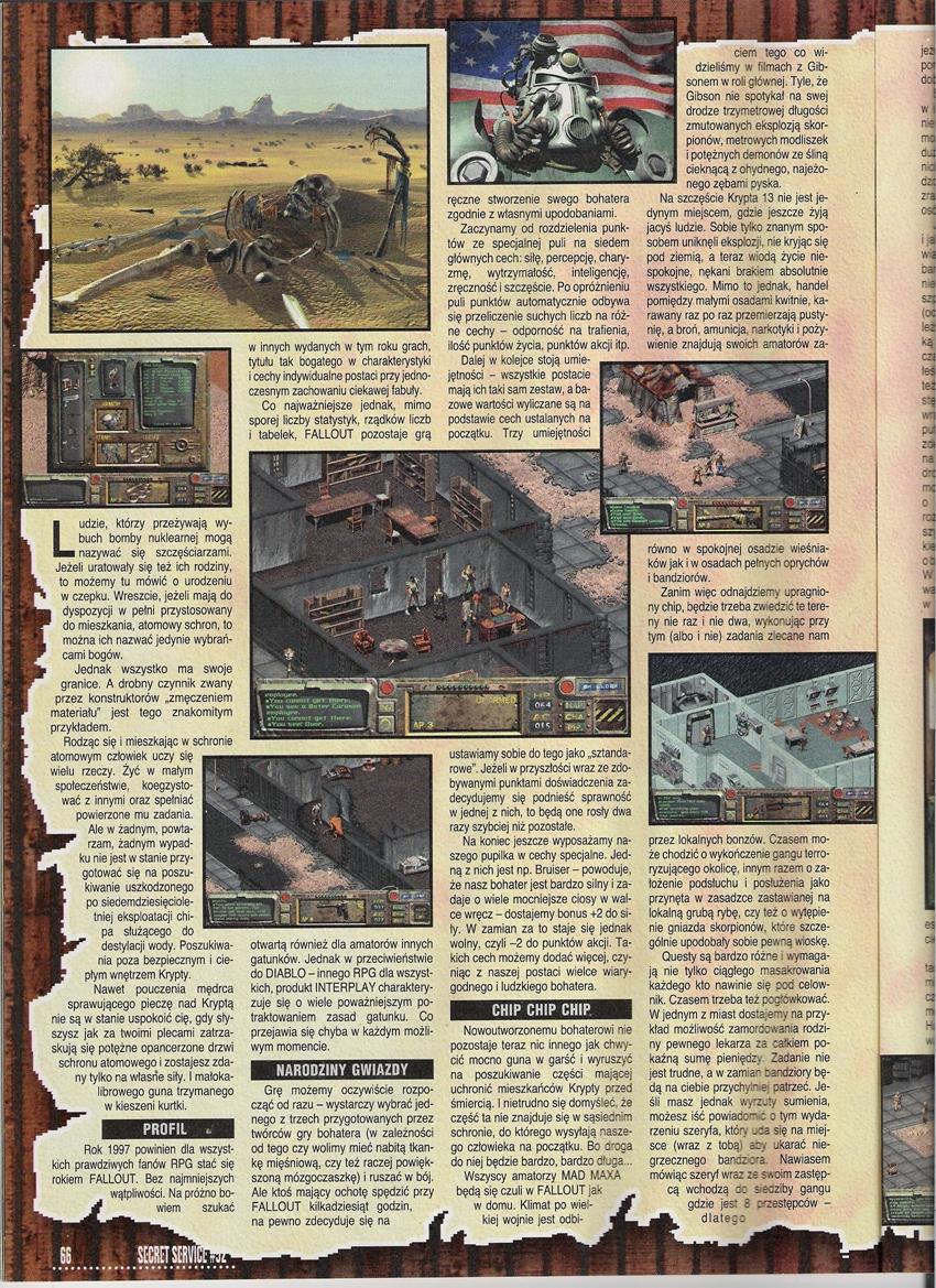 Secret Service Fallout review (1997)