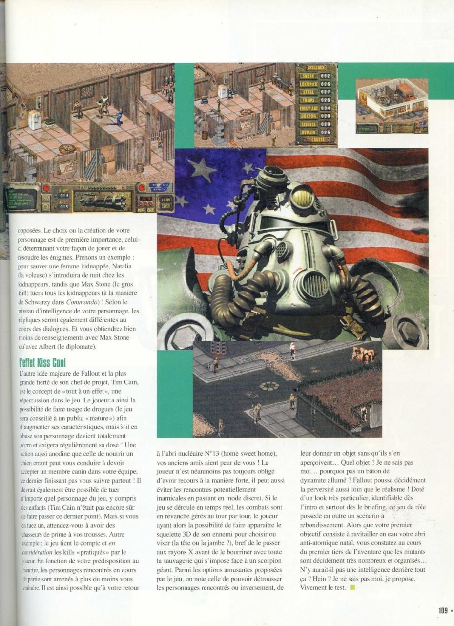 Gen 4 Fallout preview (1997) FR