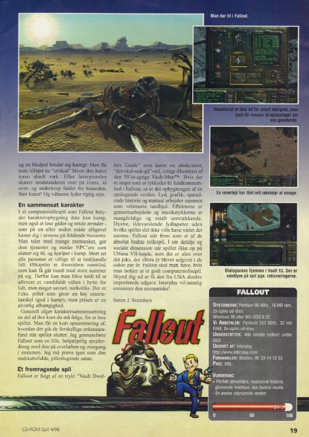 CD-ROM Spil review (1998) DN