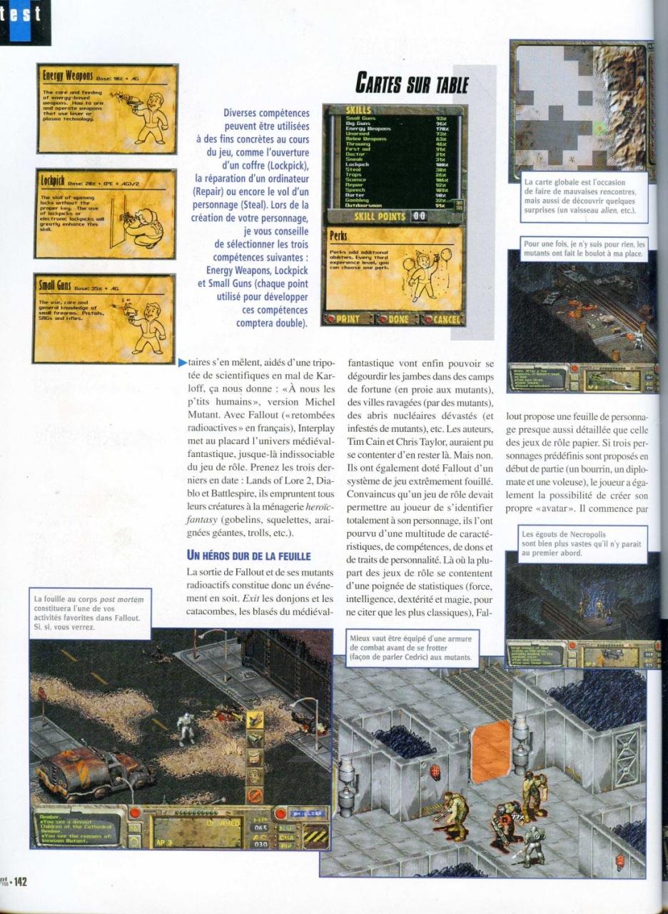 Gen4 Fallout review (1998) FR