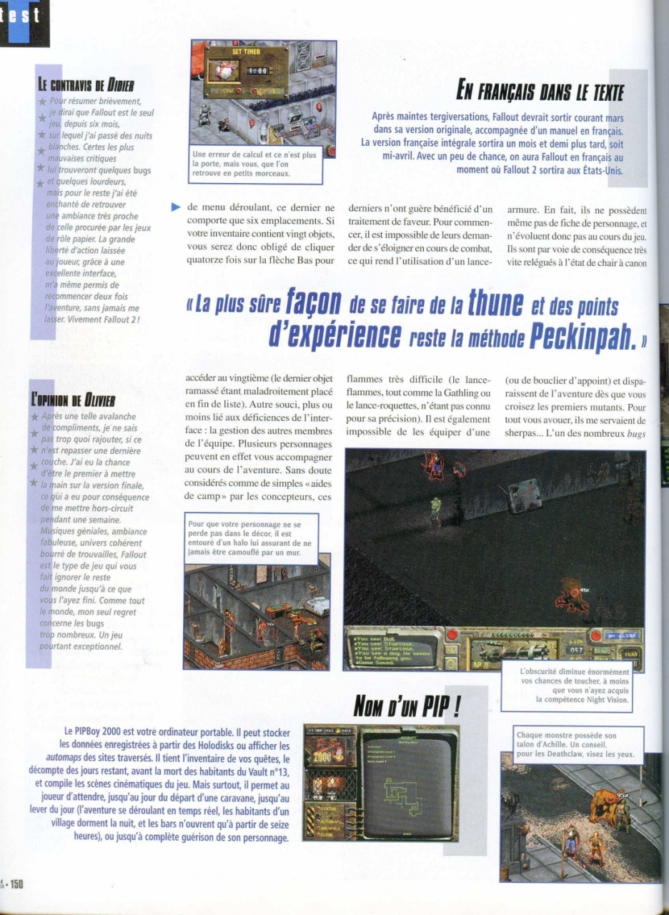 Gen4 Fallout review (1998) FR
