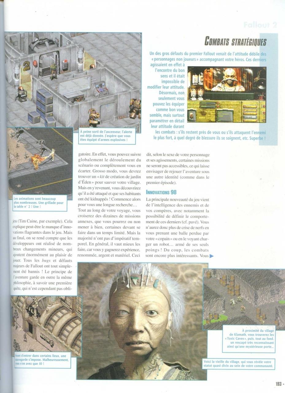 Gen4 Fallout 2 review (1999) FR