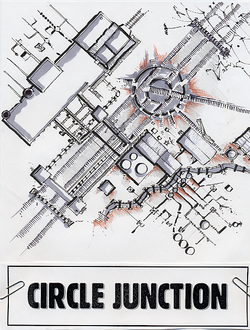 Circle Junction map