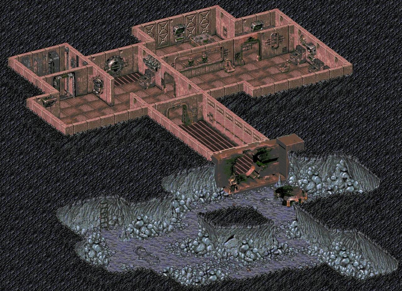 Vault 15 map