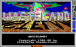 Wasteland title card