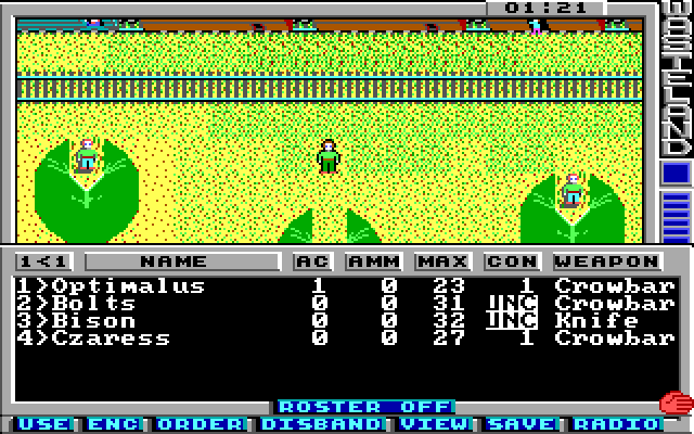 Wasteland LP screenshot