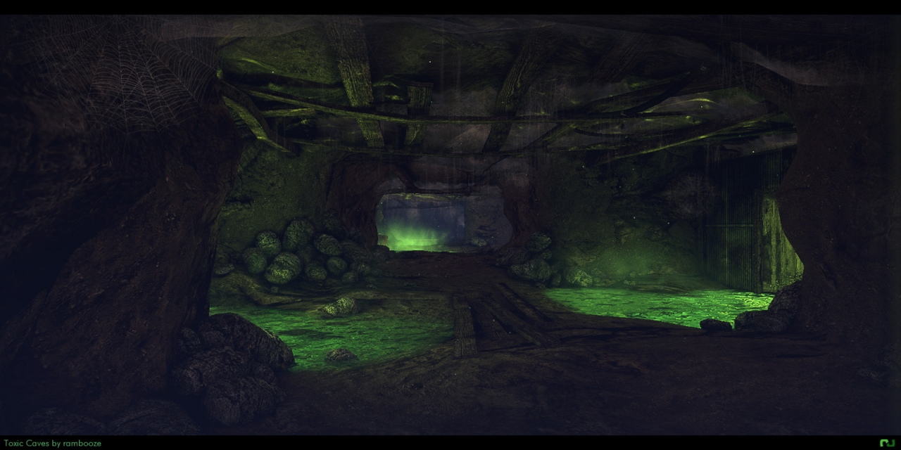 Toxic Caves by rambooze