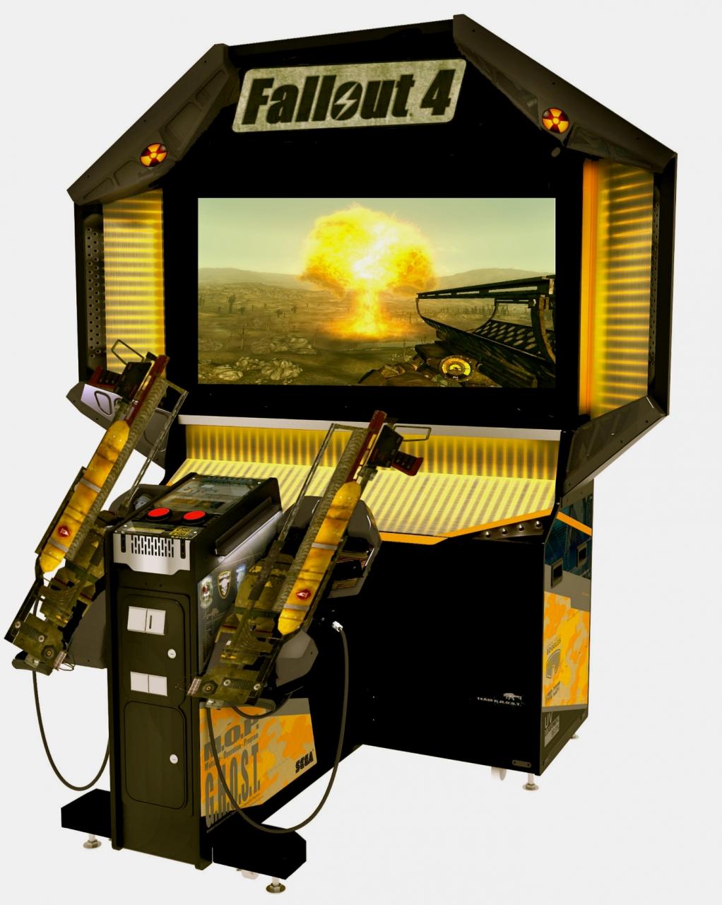 """Fallout 4 Arcade  """" Fatboy """" Edition"""