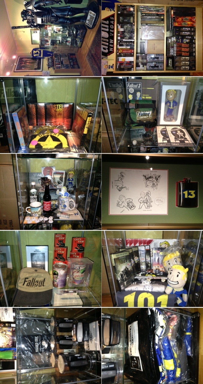 Erik Tidemann's Fallout collection