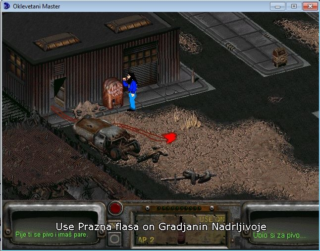 Slika 7 iz igre Oklevetani Master