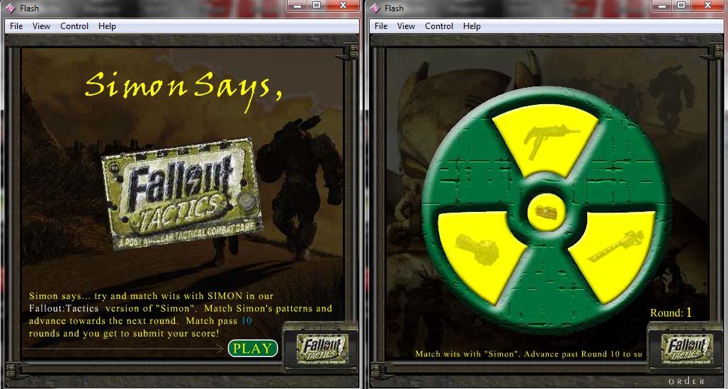 Fallout Tactics Simon Says