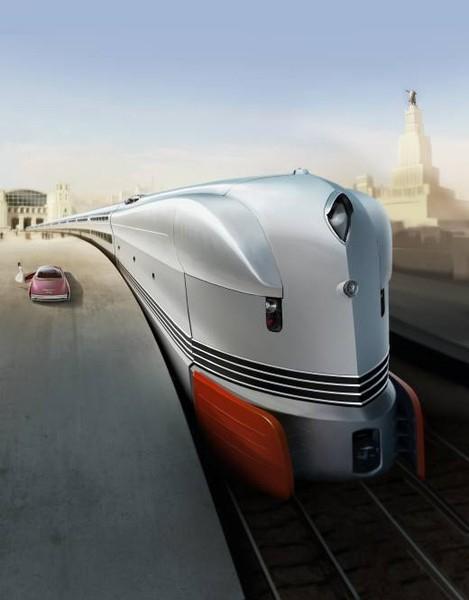 Nuclear Locomotive concept