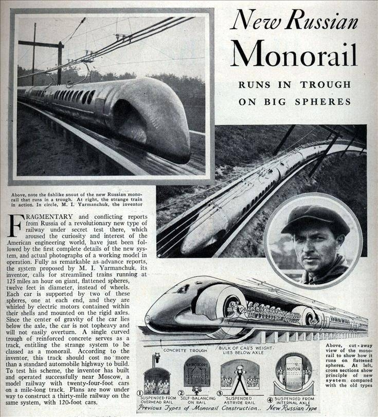 Sphere Monorail project