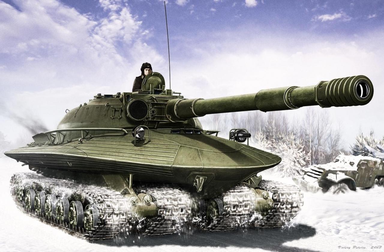 Object 279 Nuclear Tank
