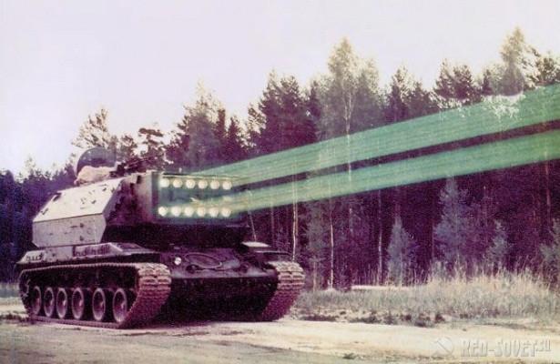 1K17 Szhatie laser weapons system